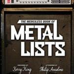 THE MERCILESS BOOK OF METAL LISTS: In Stores TODAY – New Testimonial Video Featuring Gary Holt (Exodus, Slayer) Live NOW at Bravewords.com