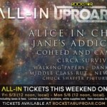 Rockstar Energy UPROAR Festival Celebrates Cinco de Mayo With Limited Time $15 Lawn Ticket Promotion
