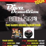 Diva Demolition & Bellusira launch joint Miss Adventures tour