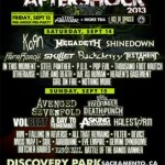 Monster Energy's Aftershock Festival: Expanded Band Lineup Includes Five Finger Death Punch As Sunday Co-Headliner For September 14 & 15 Rock Festival In Sacramento