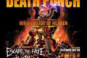 LIVE: Five Finger Death Punch – October 8, 2013 (Detroit, MI)