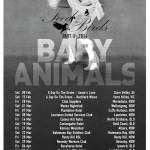 Baby Animals are Back with a Brand New National Tour in 2014