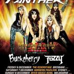 LIVE: STEEL PANTHER / Buckcherry / Fozzy – Perth, WA, 12 December 2013