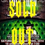 LIVE: COLT FORD – January 18, 2014, Flint, MI @ The Machine Shop
