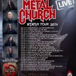 LIVE: METAL CHURCH – March 16, 2014, Concord, CA @ Vinnie's Bar