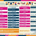 Set times have been announced for Western Australia's third annual STATE OF THE ART FESTIVAL