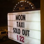 LIVE: MOON TAXI – January 22, 2015 (Knoxville, TN)