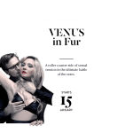 THEATRE REVIEW: BLACK SWAN THEATRE'S VENUS IN FUR