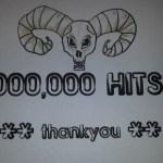 100% ROCK MAGAZINE amasses FOUR MILLION web hits!!