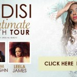 LIVE: LEDISI wsg LEELA JAMES & RAHEEM DEVAUGHN – March 13, 2015 (Detroit, MI)
