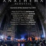 Anathema announce 2015 Acoustic tour of Australia & New Zealand