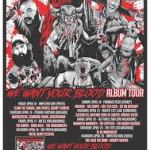 """Chainsaw Hookers """"We Want Your Blood"""" album tour"""