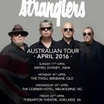THE STRANGLERS ANNOUNCE 2016 AUSTRALIAN TOUR
