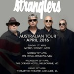 THE STRANGLERS ANNOUNCE 2016 AUSTRALIAN TOUR