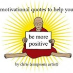 BOOK REVIEW: motivational quotes to help you be more positive by chris (simpsons artist)