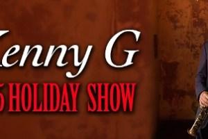 LIVE: KENNY G – December 16, 2015 (Detroit, MI)