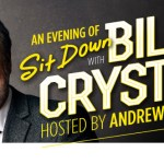 Actor, comedian and playwright BILLY CRYSTAL touring Australia with Andrew Denton in July/August