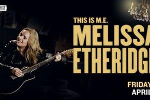 LIVE: MELISSA ETHERIDGE – Perth, 1 April, 2016