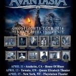 LIVE: AVANTASIA – April 11, 2016 (Anaheim, CA)
