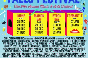 THE FALLS MUSIC & ARTS FESTIVAL 2016/17 LINE-UP ANNOUNCE!