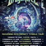 Dragonforce Announce 'Reaching Into Infinity' Australian Tour 2017