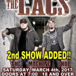 LIVE: THE LACS – March 4, 2017 (Flint, MI)