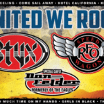 LIVE: THE UNITED WE ROCK TOUR featuring REO SPEEDWAGON & STYX – July 25, 2017