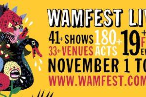 WAMFest ► 125+ ACTS ANNOUNCED FOR West Australia's music celebration – WAMFEST LIVE SATURDAY