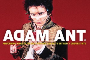 LIVE: ADAM ANT – FREMANTLE, 16 Oct, 2017