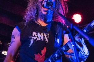 LIVE: ANVIL – Perth, 14 Nov 2017