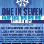 "Aussie rock charity supergroup ""One in Seven"" release single"