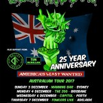 LIVE: Ugly Kid Joe with Dallas Frasca, Tim Mcmillan – Perth, 6 Dec 2017