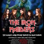 THE IRON MAIDENS ANNOUNCE AUSTRALIA AND NEW ZEALAND TOUR 2018