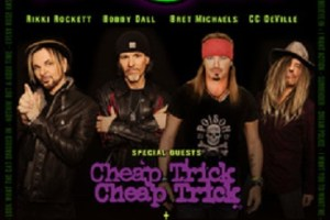 "POISON, CHEAP TRICK AND POP EVIL JOIN FORCES FOR ""POISON…NOTHIN' BUT A GOOD TIME 2018"" U.S. SUMMER TOUR"