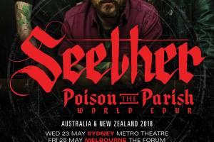SEETHER Announce 'Poison The Parish' Australian Tour Dates