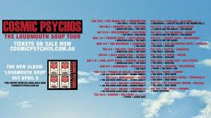 LIVE: COSMIC PSYCHOS – Perth, 14 April, 2018