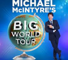 MICHAEL McINTYRE – UK'S BIGGEST SELLING COMEDIAN – AUSTRALIAN TOUR 2019