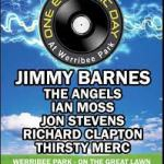 ONE ELECTRIC DAY MELBOURNE to feature JIMMY BARNES, THE ANGELS, IAN MOSS, JON STEVENS, RICHARD CLAPTON AND THIRSTY MERC