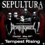 LIVE: SEPULTURA with DEATH ANGEL – Perth, 20 May, 2018