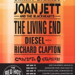 RED HOT SUMMER 2019 Starring Jimmy Barnes, Joan Jett and more