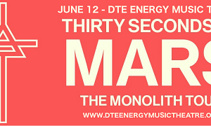 LIVE: THIRTY SECONDS TO MARS – June 12, 2018