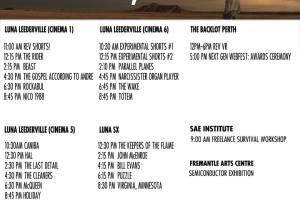TODAY at Revelation Film Festival – Sunday, 8 July