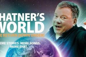 WILLIAM SHATNER RETURNS TO AUSTRALIA THIS OCTOBER!
