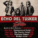 Melbourne rockers Echo Del Tusker to make their WA debut in support of Rose Tattoo