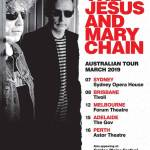 THE JESUS AND MARY CHAIN Announce March 2019 Australian Tour