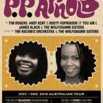 PP ARNOLD – NOV/DEC 2018 AUSTRALIAN TOUR