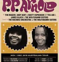 PP ARNOLD – NOV/DEC 2018 AUSTRALIAN TOUR