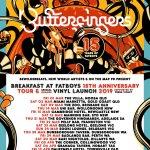 AUSSIE HIPHOP LEGENDS BUTTERFINGERS ANNOUNCE EXTENSIVE 15 YEARS OF FATBOYS AUSTRALIAN TOUR