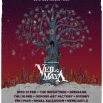 DANCE GAVIN DANCE & VEIL OF MAYA – AUSTRALIAN TOUR FEBRUARY/MARCH 2019