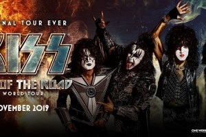KISS – END OF THE ROAD WORLD TOUR AUSTRALIA – NOVEMBER 2019